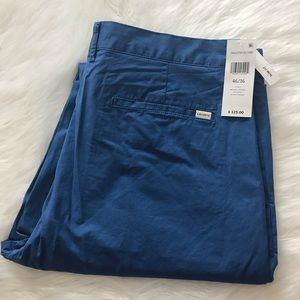 NEW wTag-Men's LACOSTE Blue Chino Pants 36 x 34